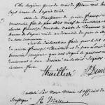 Acte de naissance de Pierre François Blot, frère de Hippolyte Clément Blot