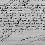 Acte de décès de Henri Blot, le Vampire de Saint-Ouen, à Paris en 1898