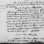 Acte de naissance de Hippolyte Blot, père de Henri Blot, le vampire de Saint-Ouen, à Saint-Sauveur en 1852